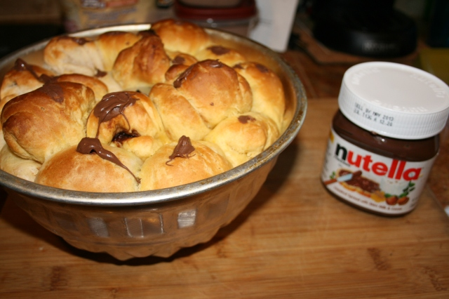Nutella Monkey Bread