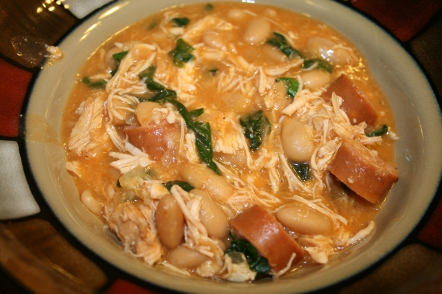Chicken & Sausage Stew