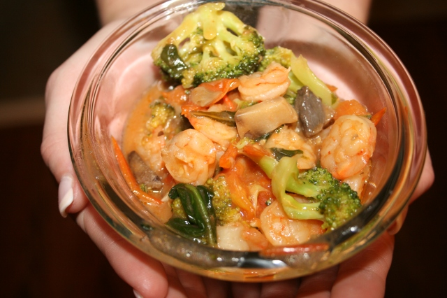 Shrimp Stir-Fry 2
