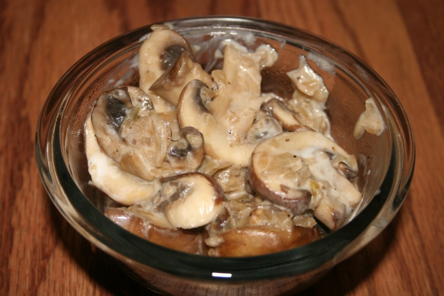 Mushrooms in Sour Cream