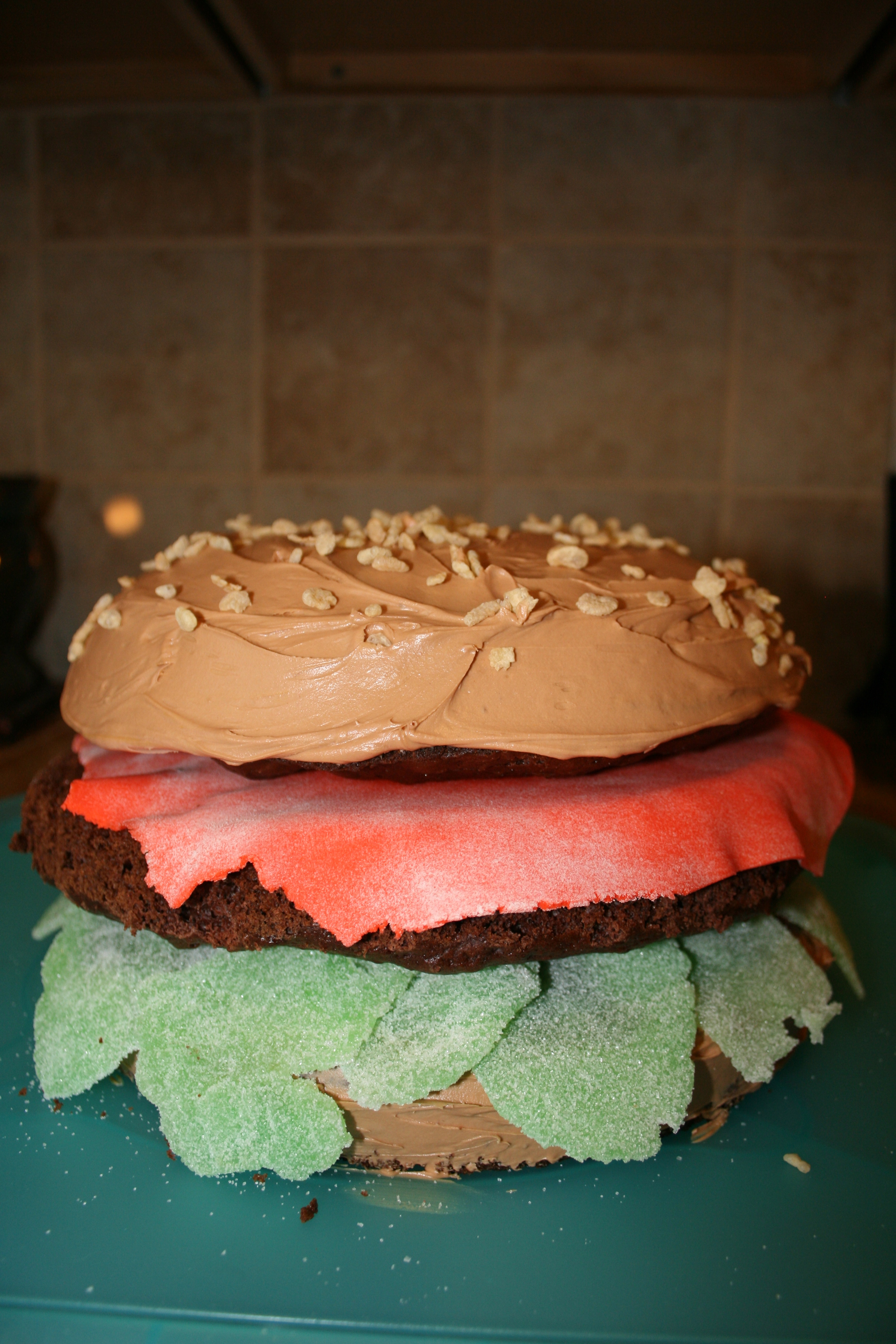 Cheeseburger Cake Dining With Dani